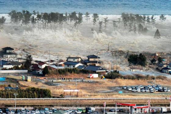 Earthquake, tsunami, radioactivity, Japan, 2011