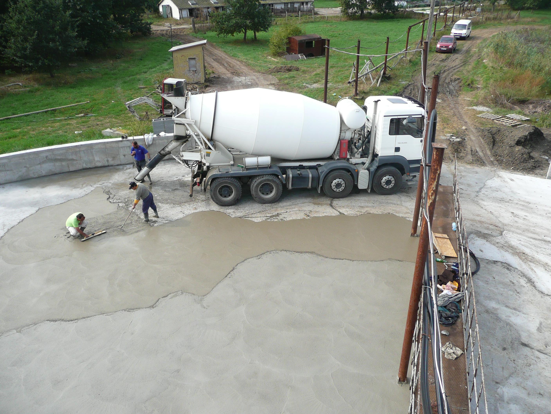 Szakszerű betonozás