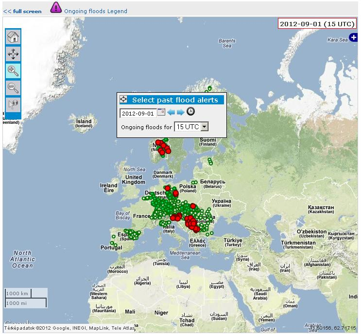 Floods in EU