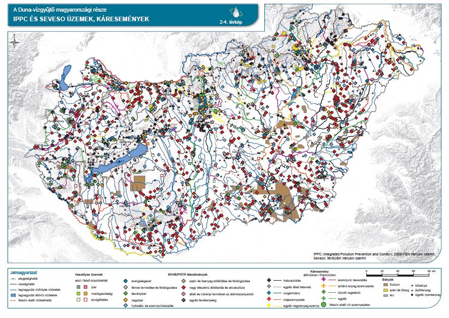 IPPC és SEVESO üzemek, káresemények