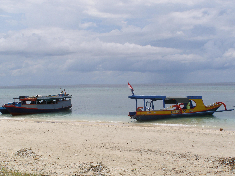 Gili Meno csónakjai