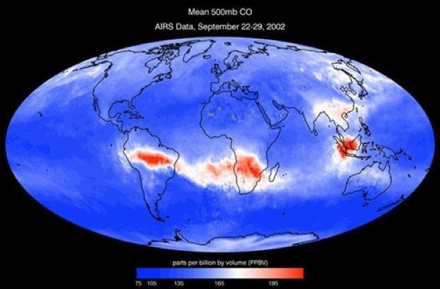 Szénmonoxid a Föld légkörében
