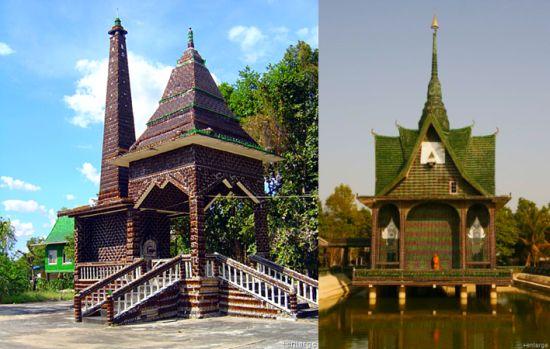 Sörösüveg templomok