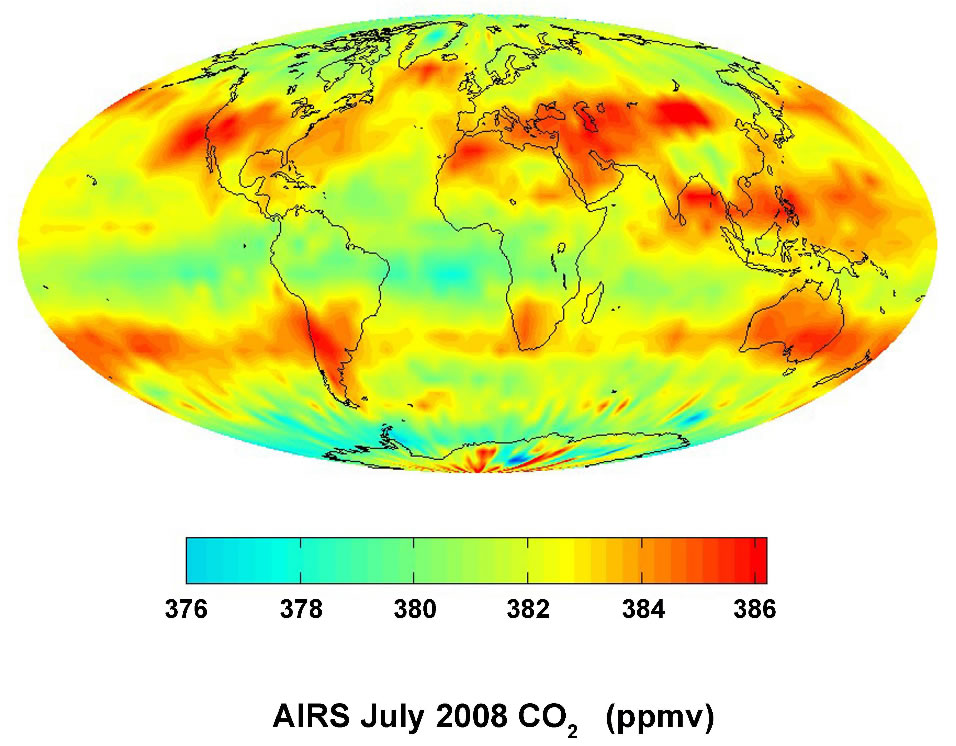 Széndioxid a légkörben