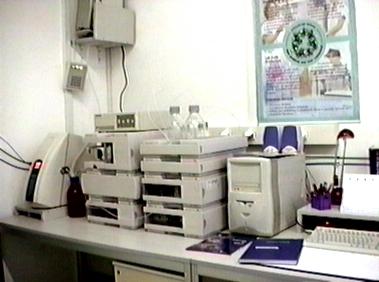 HPLC készülék