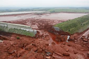 Breach of the dike