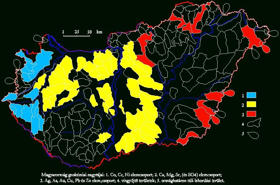 Mo. geokémiai nagytájai