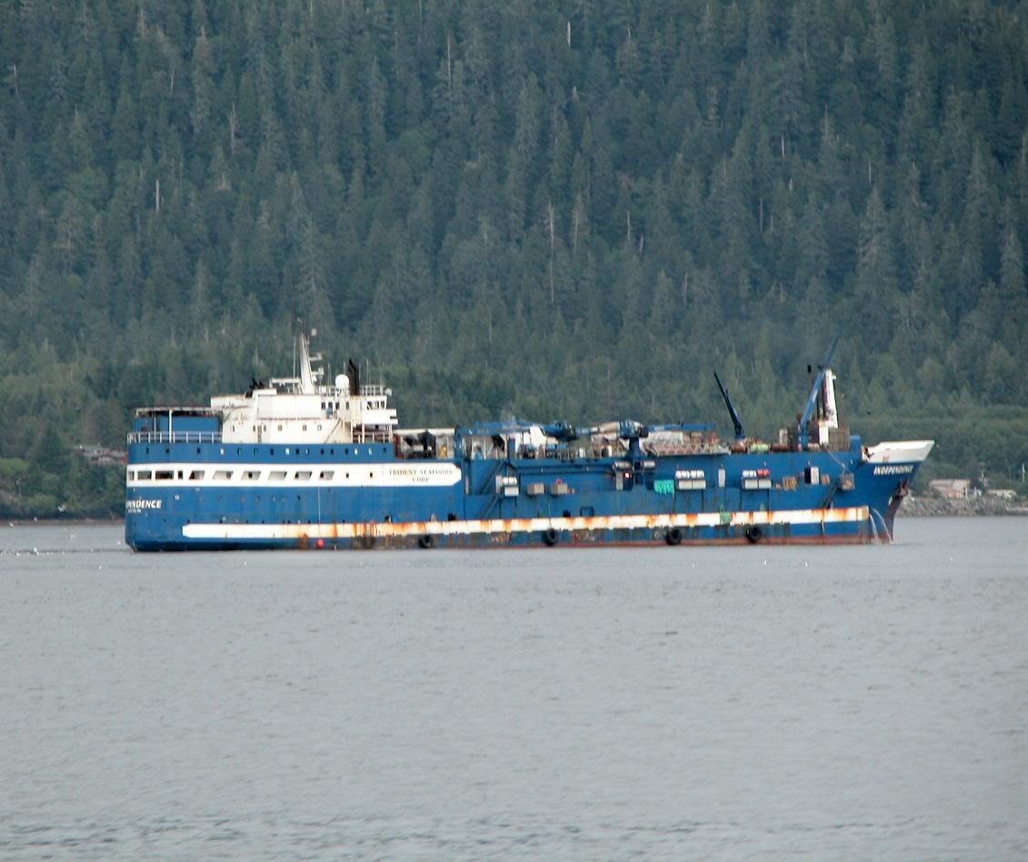 Halfeldolgozás a hajón