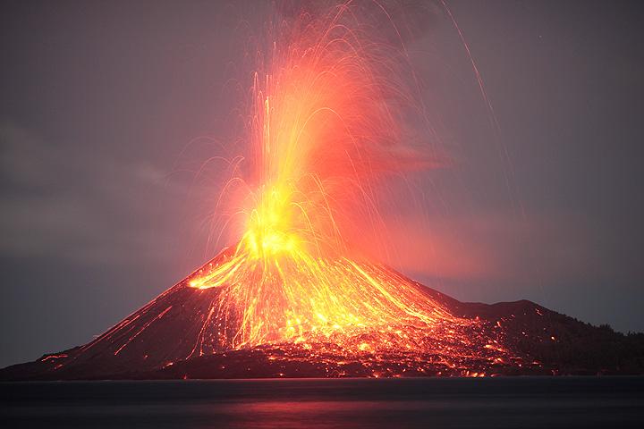 Krakatau kitörése, 2009