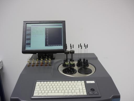 Mikrokaloriméter mérés indítás előtt