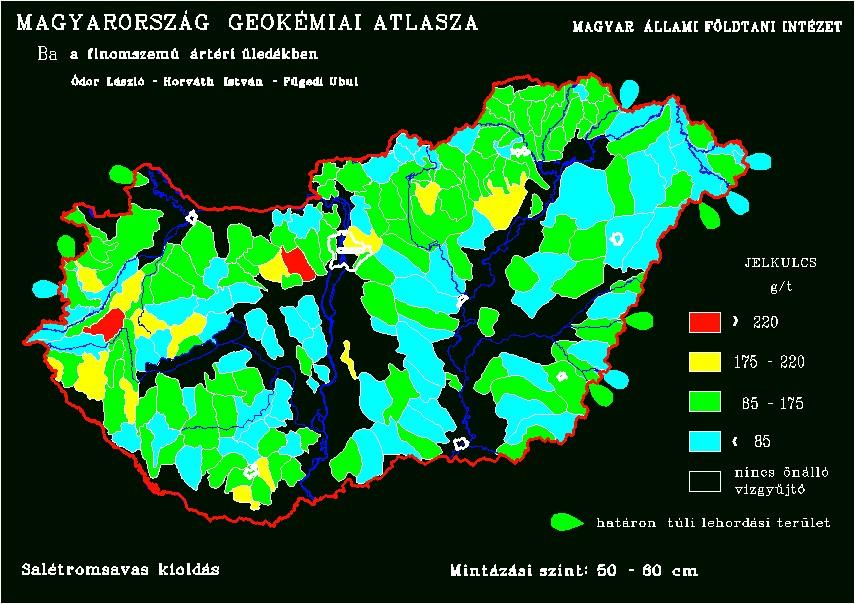 Bárium a magyar talajban