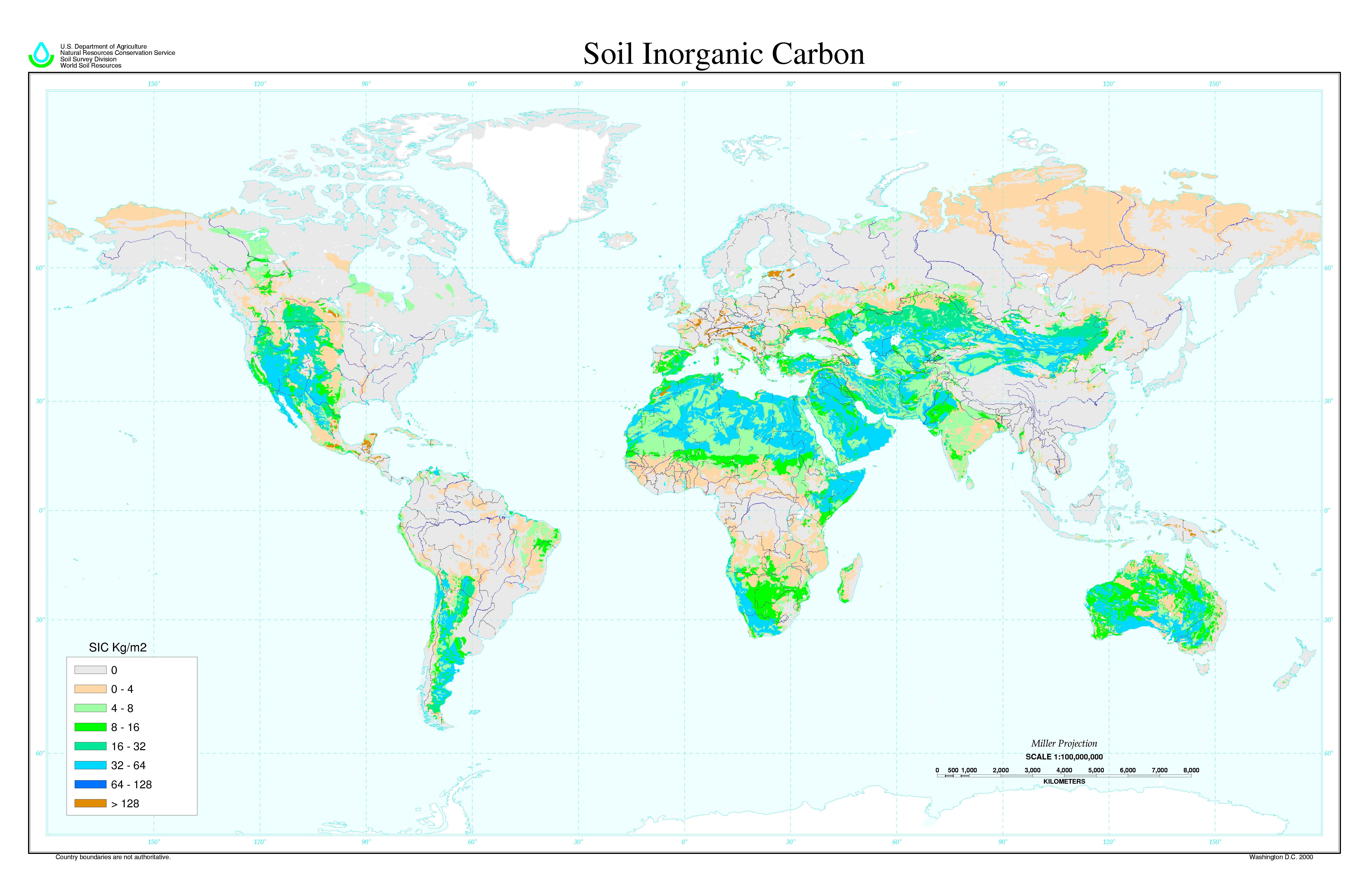 Szervetlen szén a talajokban