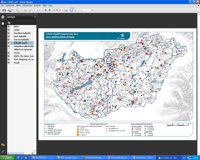 Hulladékgazdálkodás a Duna vízgyűjtője magyarországi részén