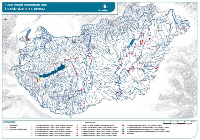 Állóvíz víztestek típusai