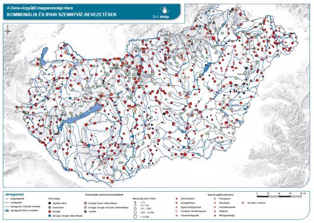 Kommunális és ipari szennyvízbevezetések
