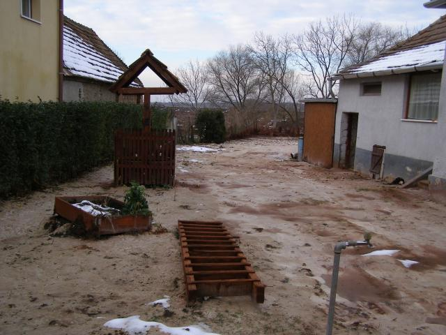 Kitakarított kert