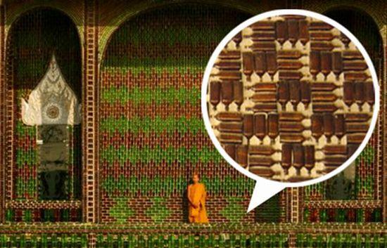 Reciklált buddhista templom