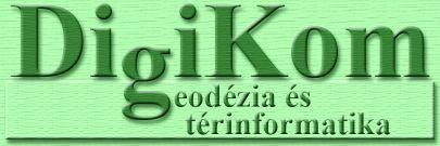 DigiKom - geodézia és térinformatika