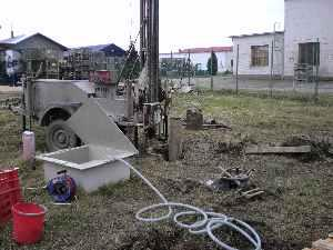 Kút létesítése in situ kémiai oxidációhoz