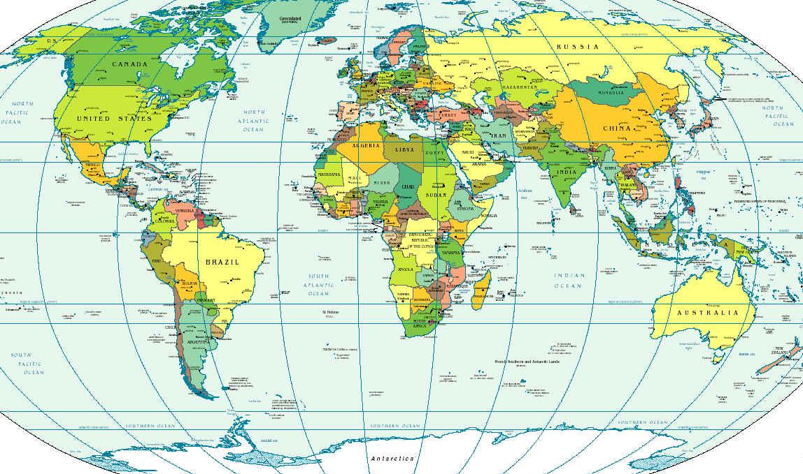 A Föld politikai térképe